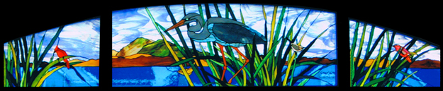 Birds Stained Glass